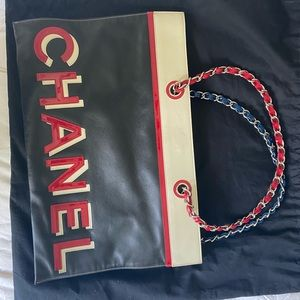 Chanel chain strap shoulder bag